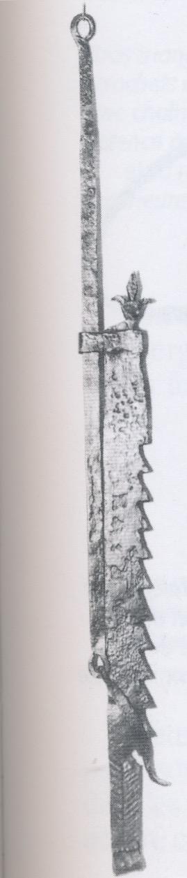 crémaillère à dents Mercuzot